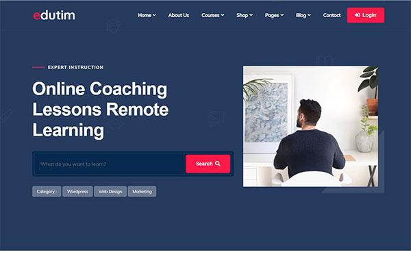 Webmaster Education 25 - Edutim - Education LMS