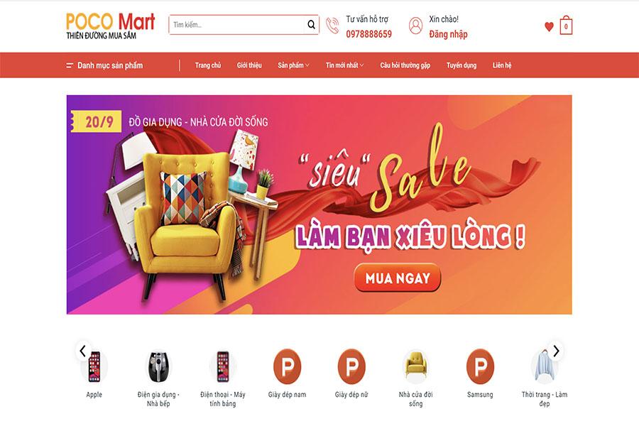 Poco Mart – Thiên đường mua sắm - Siêu Sale làm bạn xiêu lòng!