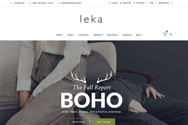 Webmaster FashionBeauty 04 - Leka - Ecommerce Responsive Template