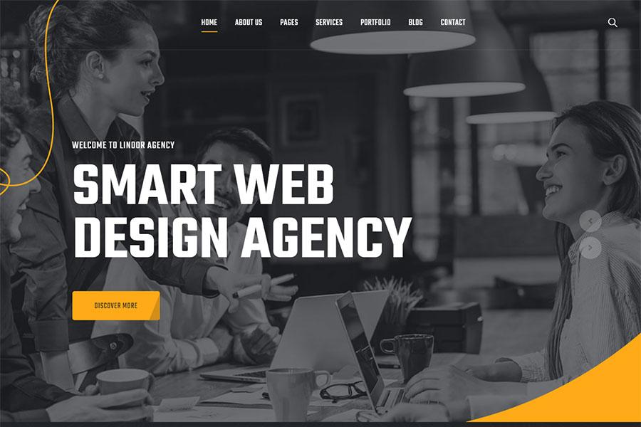 Webmaster Company 01 - Linoor - Digital Agency Services Template