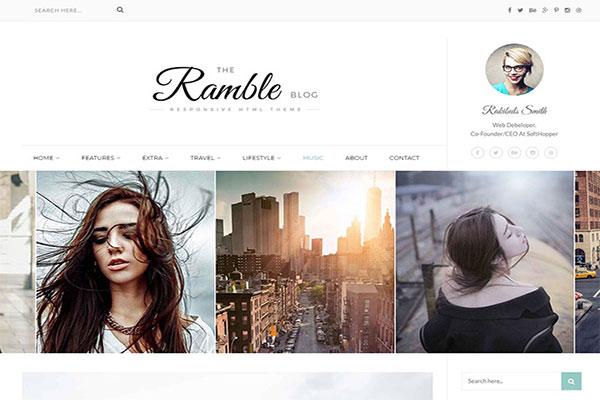 Webmaster Blog 08 -Ramble - Multi-Concept Blog