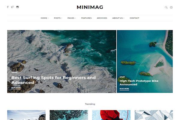 Webmaster Blog 07 - Minimag - Magazine & Blog