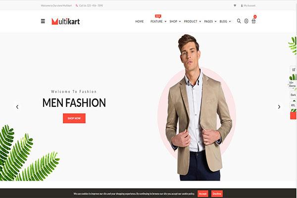 Webmaster Retail 14 - Multikart - Responsive  eCommerce Template