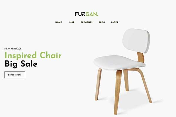 Nội Thất & Ngoại Thất 04 - Furgan - Furniture Store Template