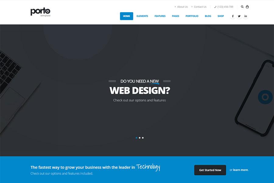 Webmaster Company 03 - Porto - Responsive Template