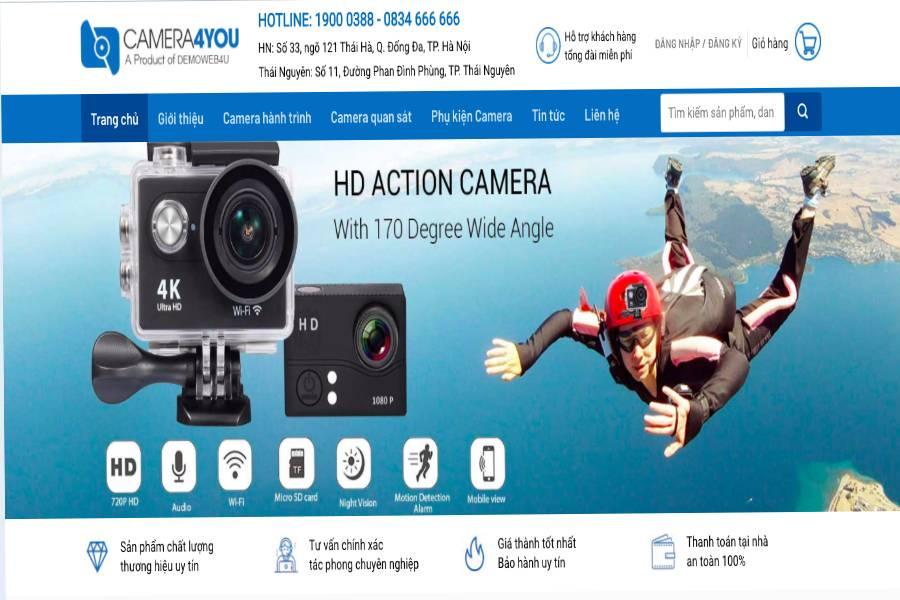 Website - camera4you