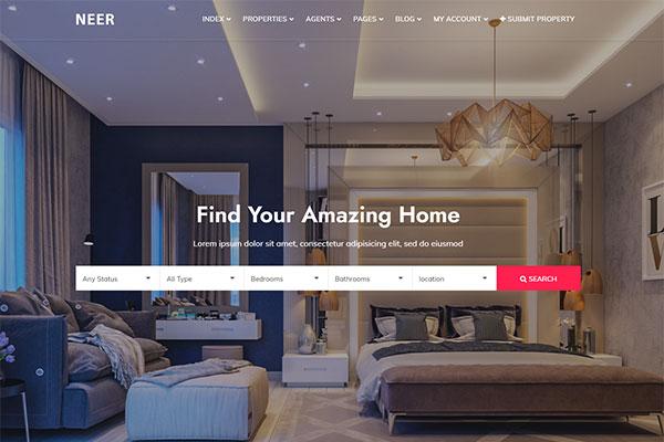 webmaster Real Estate 04 - NEER - Real Estate Template