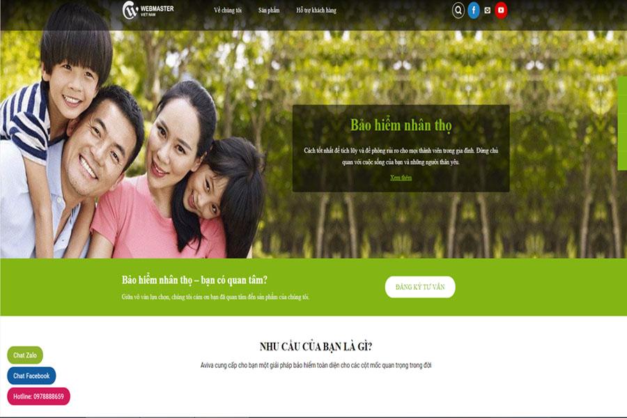 AVIVA - Bảo hiểm nhân thọ dành cho cả gia đình
