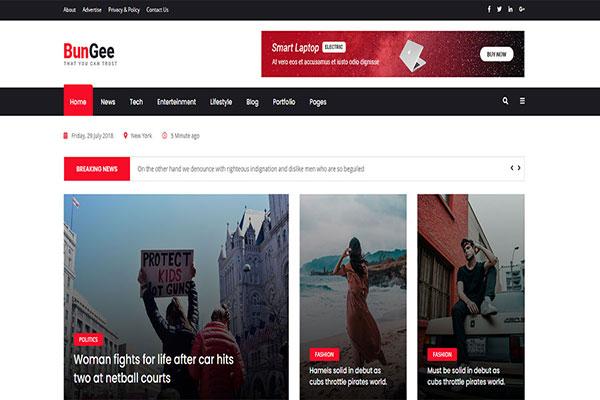 Webmaster Blog 03 - BunGee - Blog, News & Magazine