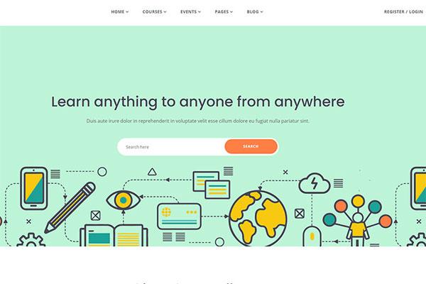 Webmaster Education 14 - Edulab - Modern Educational Template
