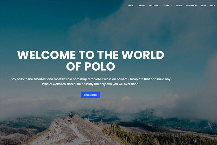 Webmaster Company 02 - Polo - Responsive Multi-Purpose Template