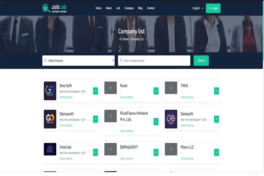 JobLab - Job Portal Platform - Frontend
