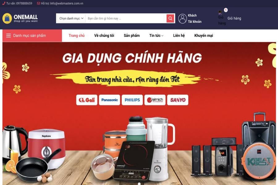 One Mall - Shopping bán lẻ đồ gia dụng online